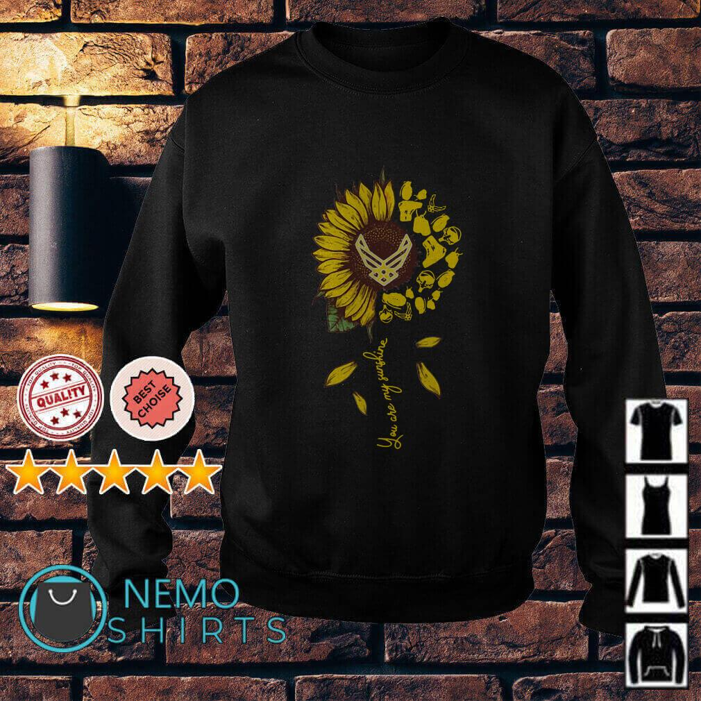 Semper Fidelis Sunflower you are my sunshine Sweater