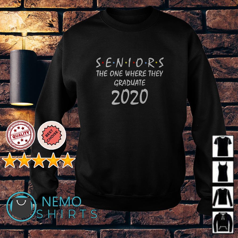 Seniors the one where they graduate 2020 Sweater