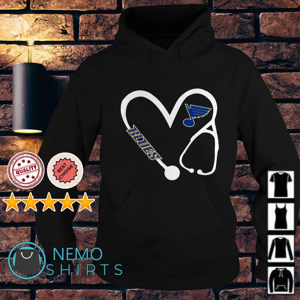 Nurse love St. Louis Blues Hoodie