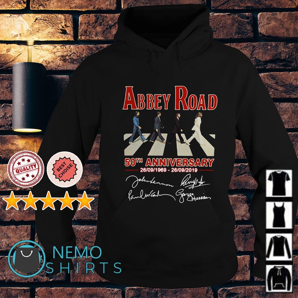 Abbey Road 50th anniversary 1969 2019 Hoodie