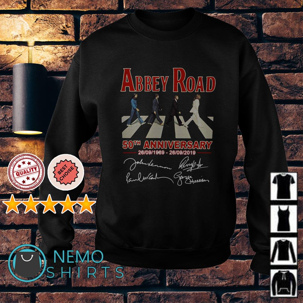 Abbey Road 50th anniversary 1969 2019 Sweater