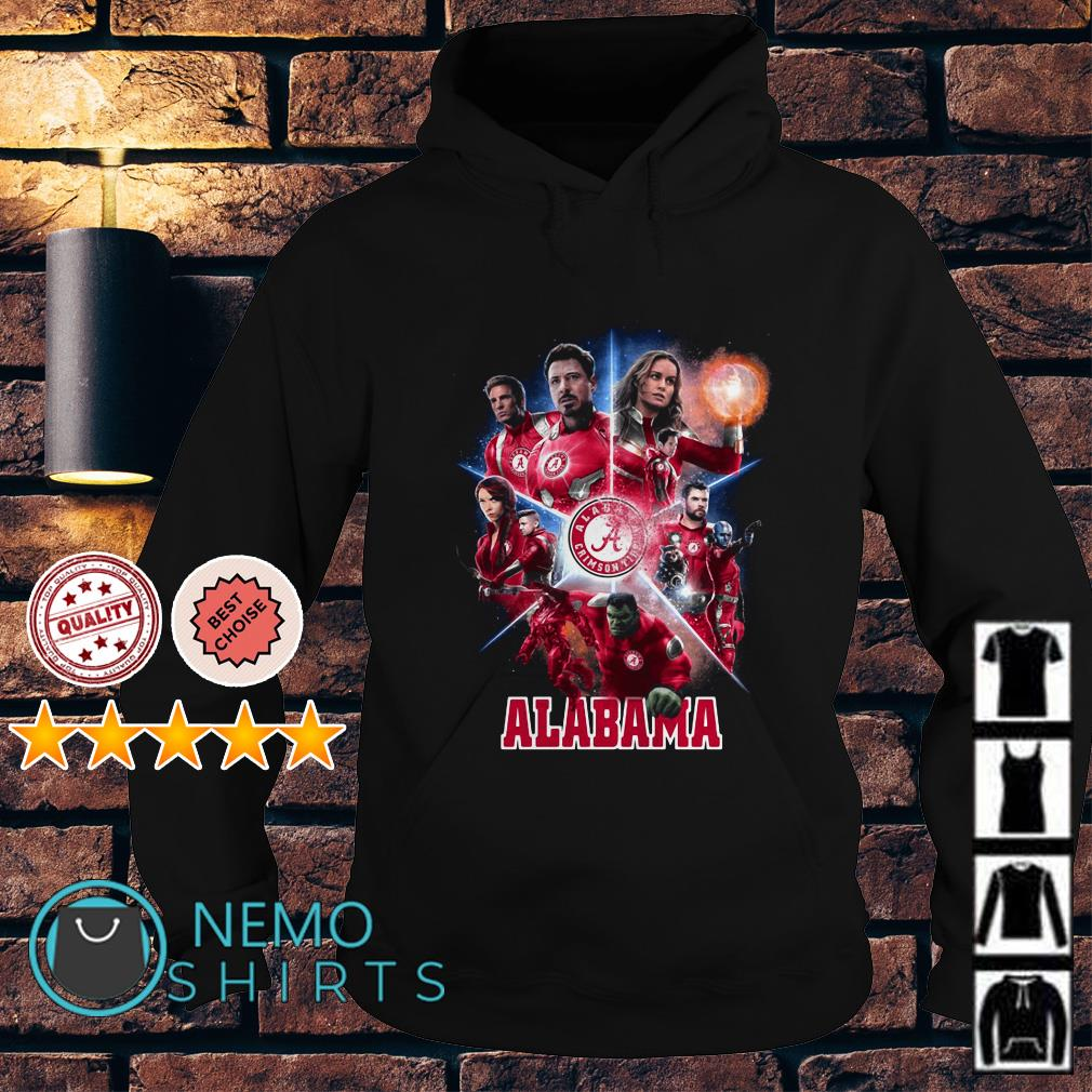 Alabama Crimson Tide Avengers Endgame Hoodie