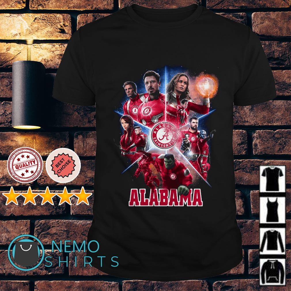 Alabama Crimson Tide Avengers Endgame shirt