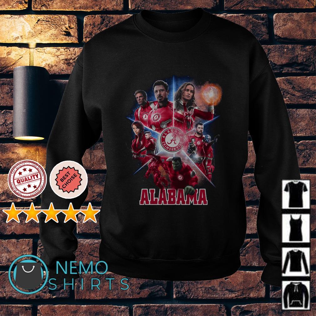 Alabama Crimson Tide Avengers Endgame Sweater