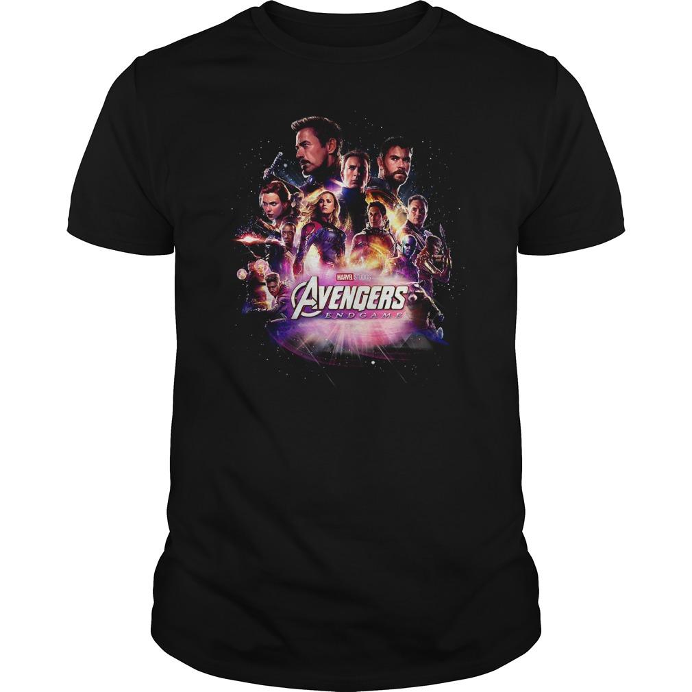 Avengers Endgame bring me Thanos all Superheroes Guys shirt