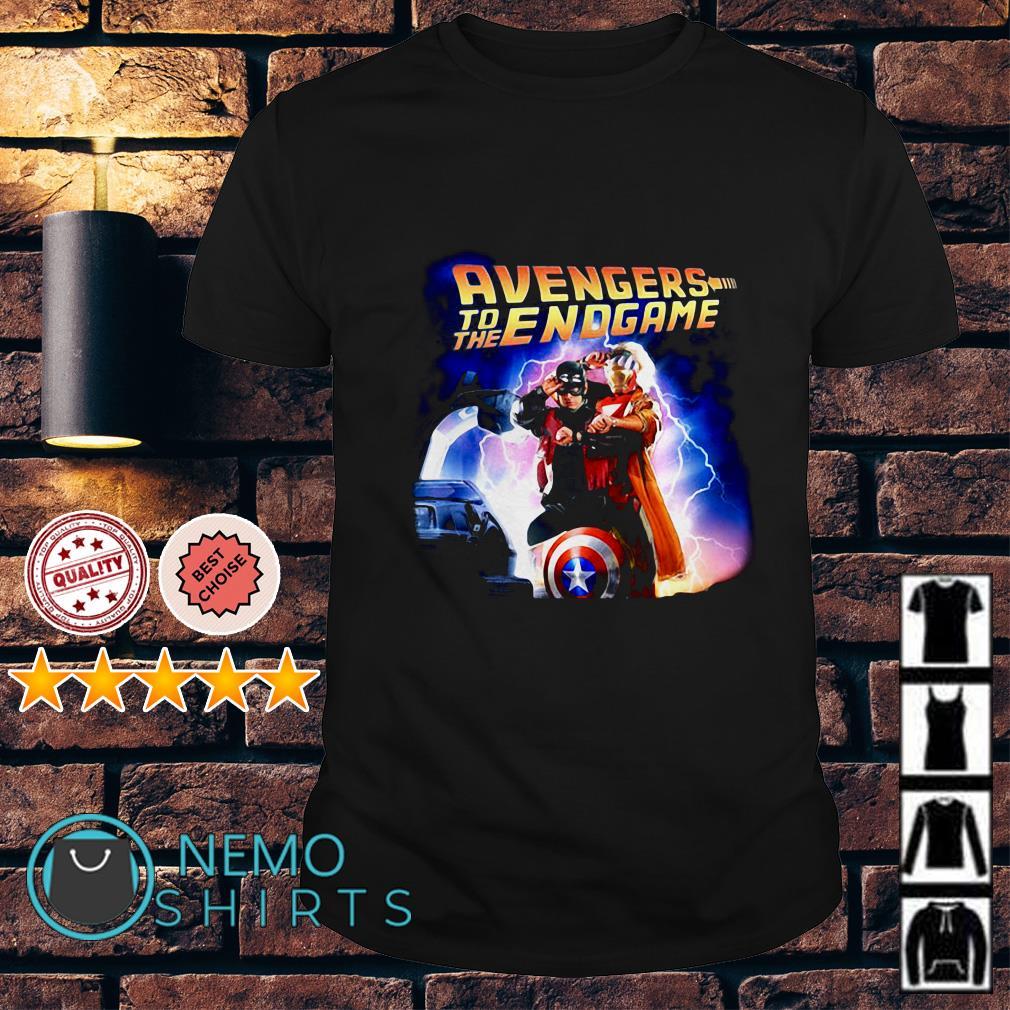 Avengers to the endgame shirt