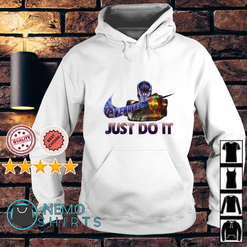 Avengers Endgame Thanos just do it nike Hoodie