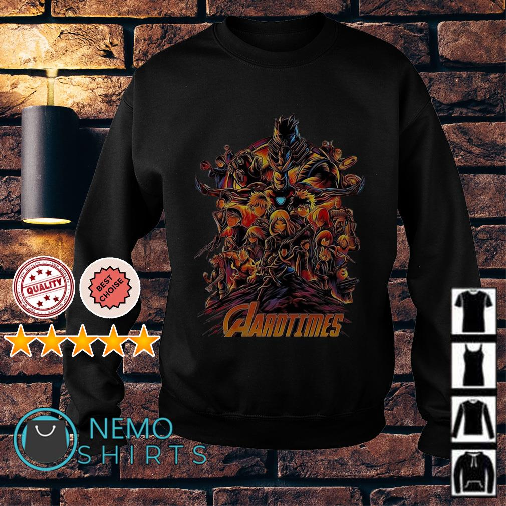 Avengers My Hero Academia Aarotimes Sweater