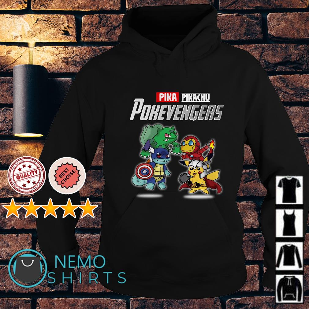 Avengers Pikachu Pokevengers Hoodie
