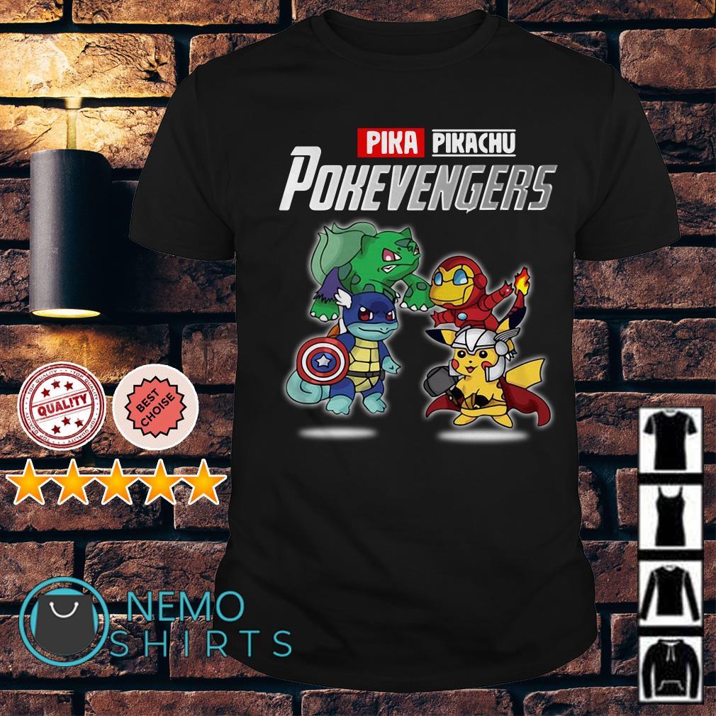 Avengers Pikachu Pokevengers shirt