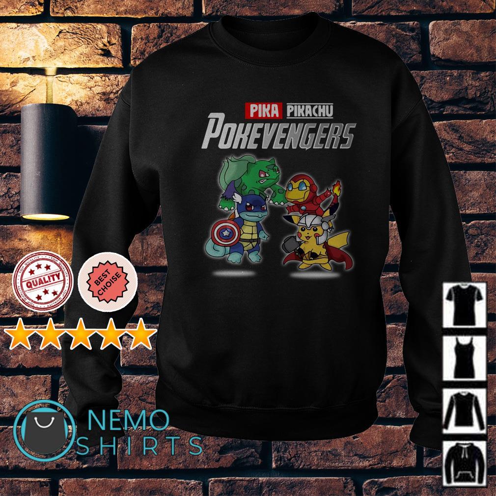 Avengers Pikachu Pokevengers Sweater