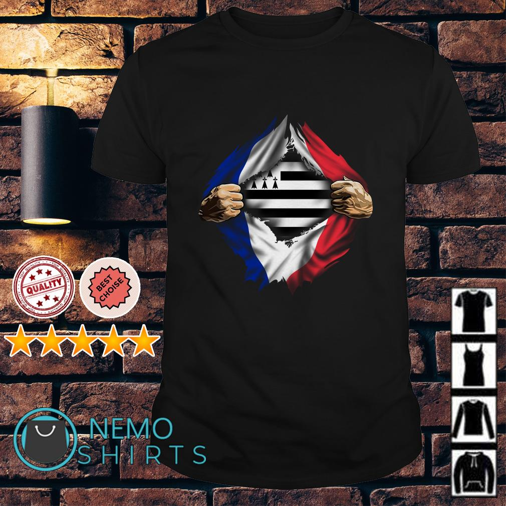 Bretagne in the republican flag France shirt
