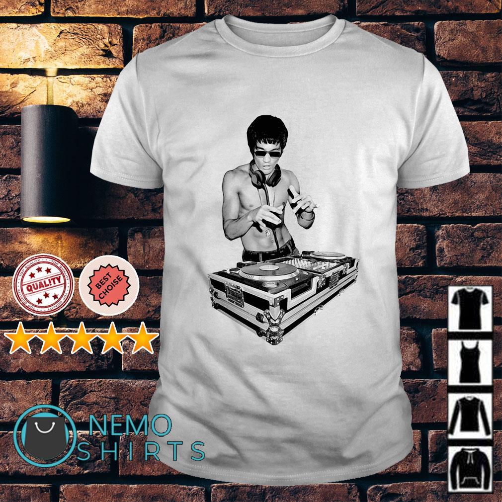 Bruce Lee DJ shirt