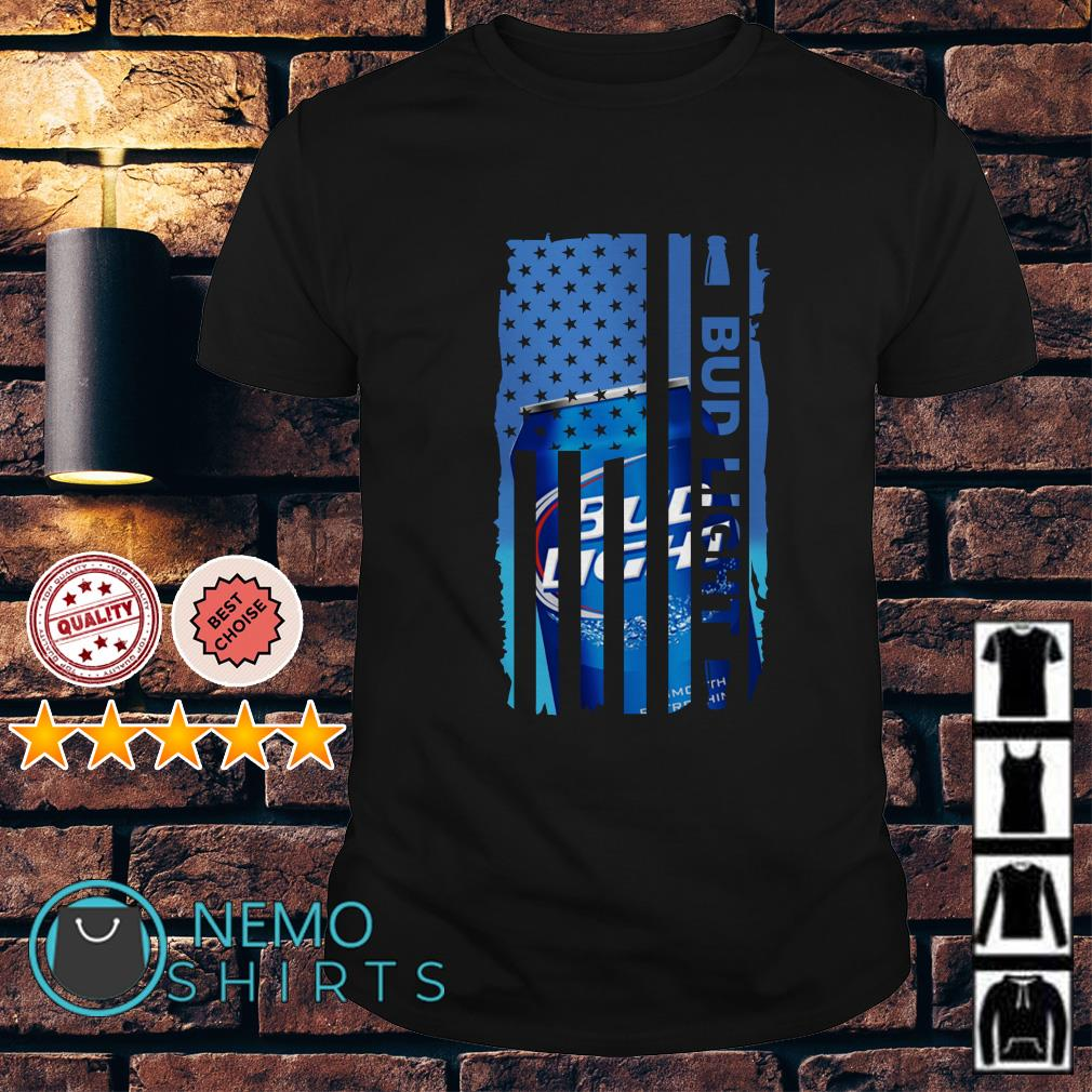 Bud Light beer America Independence Day Flag shirt