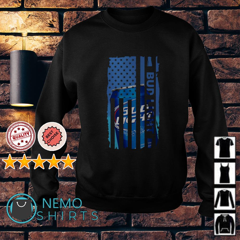Bud Light beer America Independence Day Flag Sweater