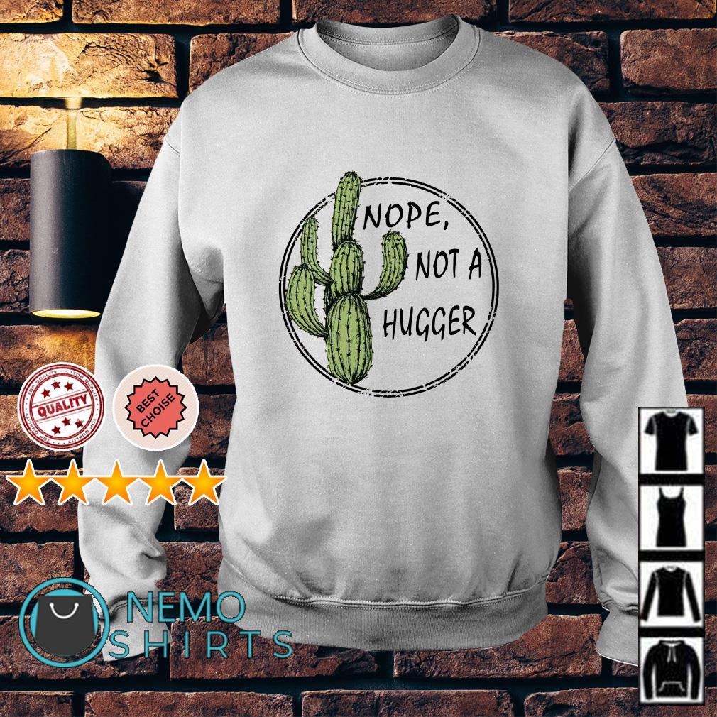 Catus nope not a hugger Sweater