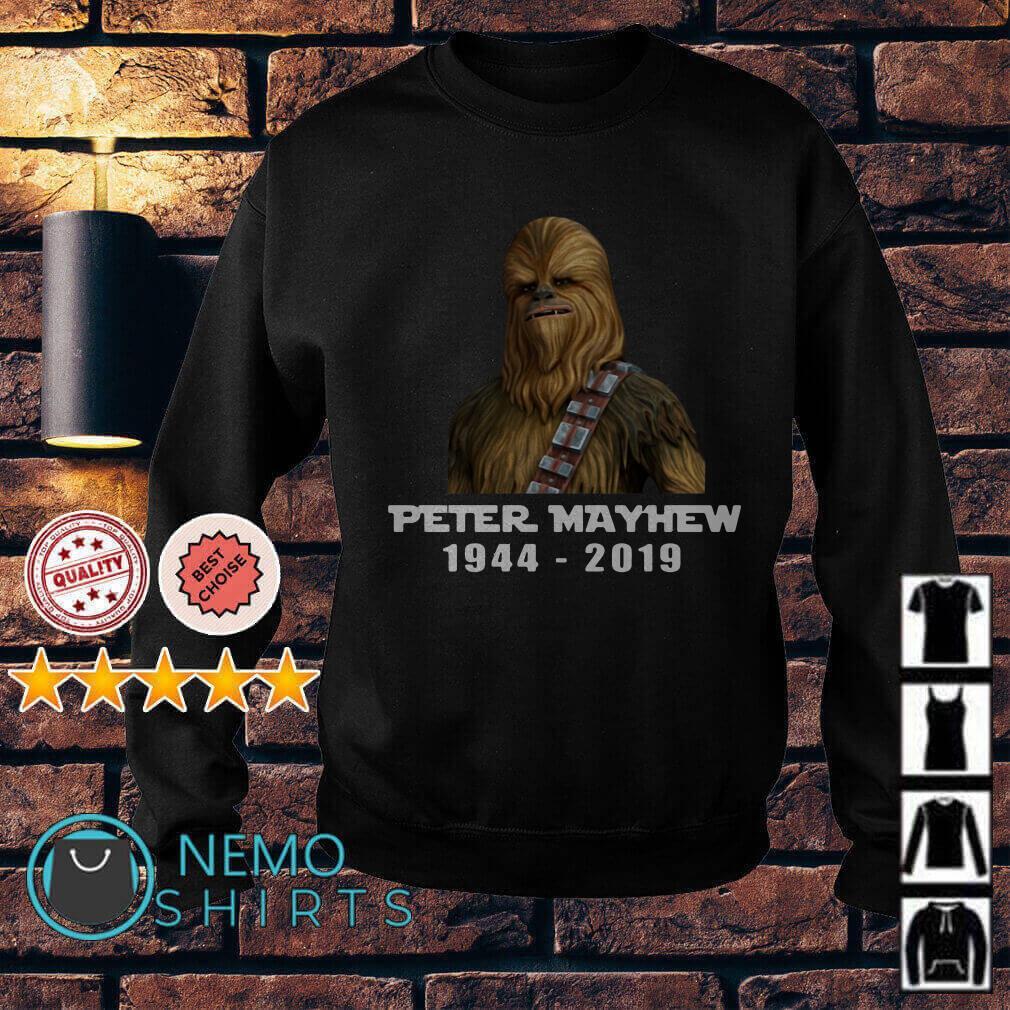 Chewbacca Peter Mayhew 1944 2019 Sweater