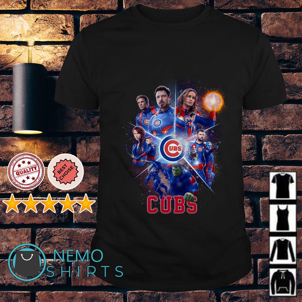 Chicago Cubs Avengers Endgame shirt