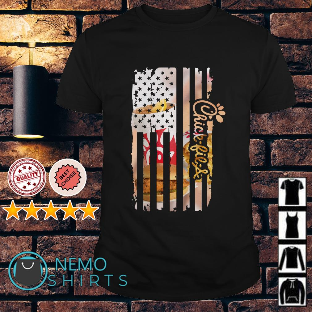 Chick-fil-A America Independence Day Flag shirt