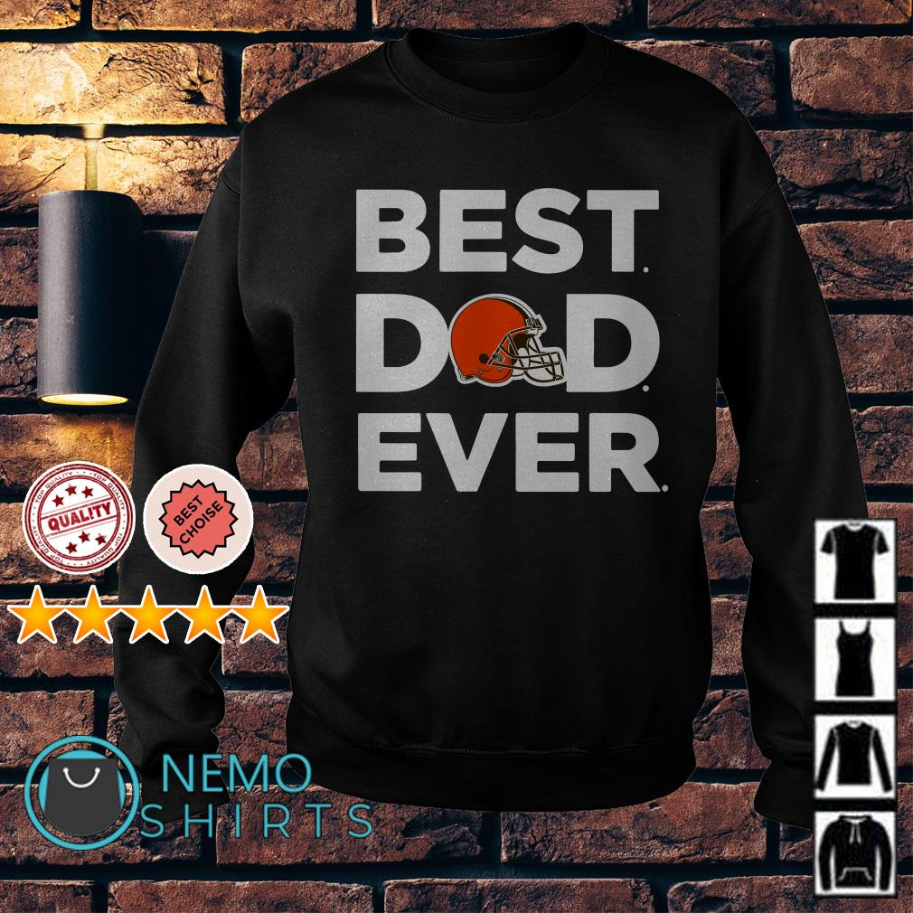 Cleveland Browns best Dad ever Sweater