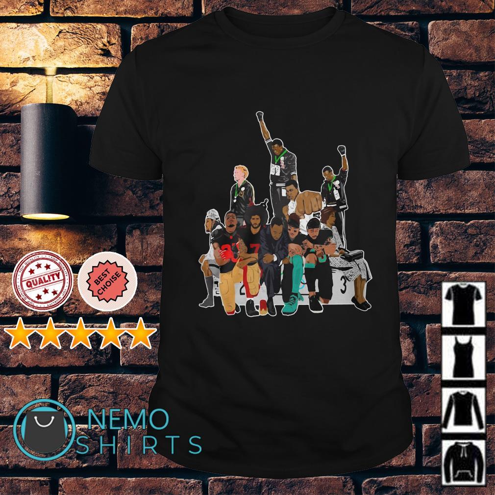 Colin Kaepernick 1968 Olympics black power shirt
