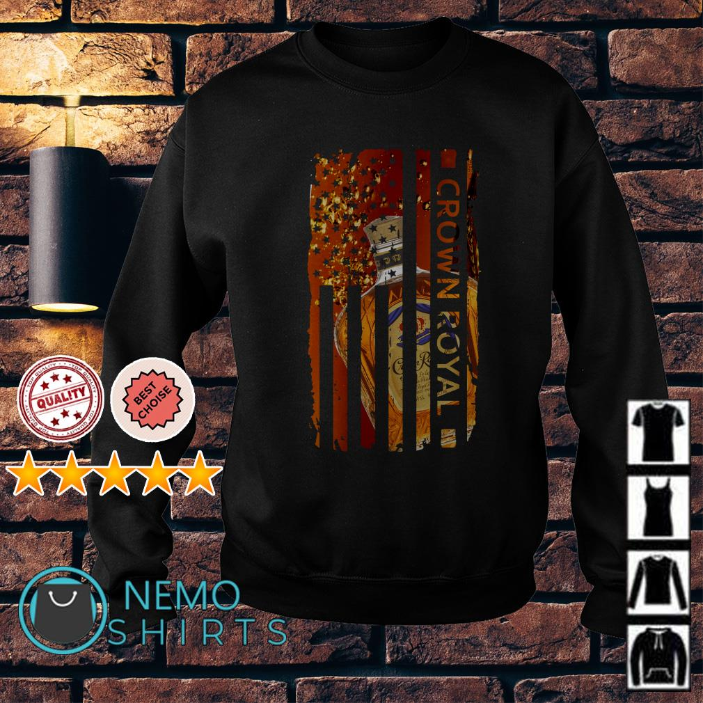 Crown Royal America Independence Day Flag Sweater