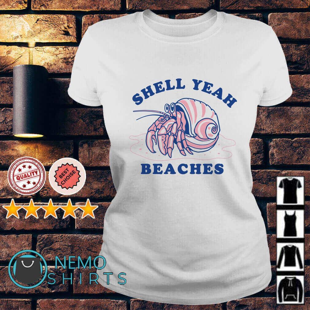 Dardanus calidus Shell yeah beaches Ladies Tee