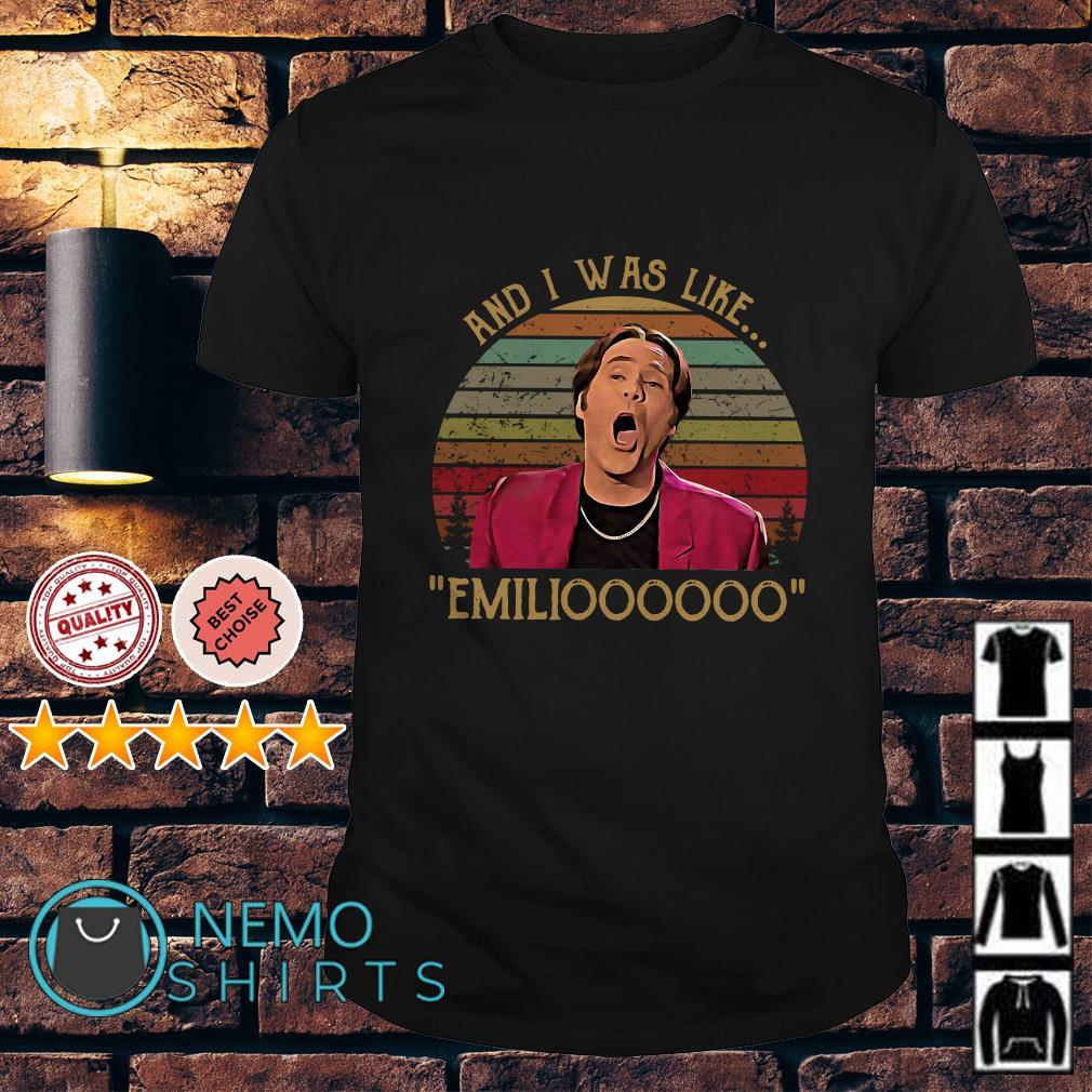 Doug Butabi and I was like emiliooooo vintage shirt