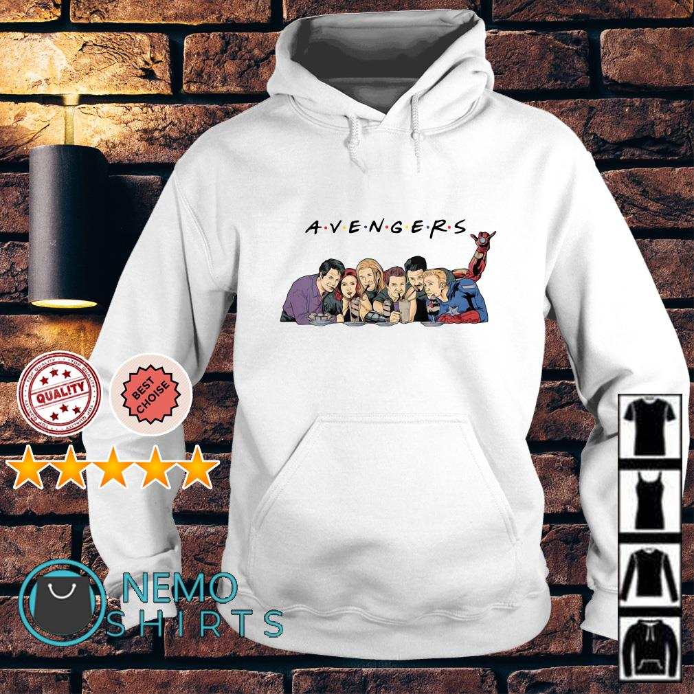 Friends TV show mashup Avengers Hoodie