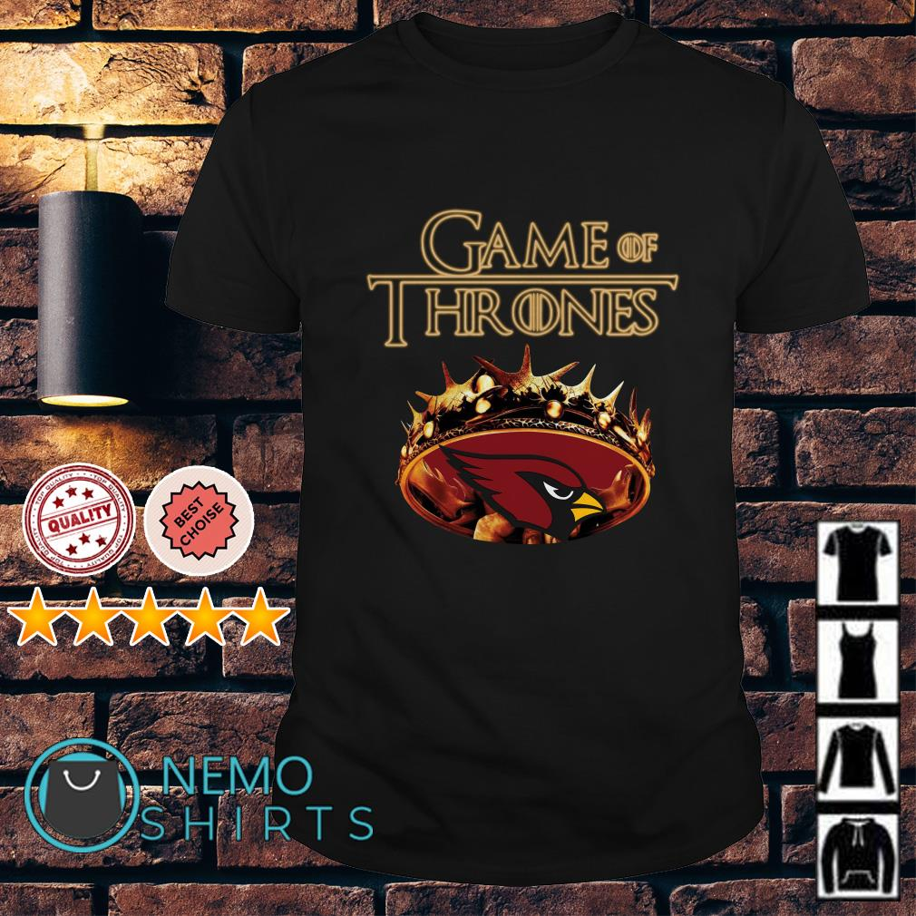 Game of Thrones Arizona Cardinals mashup shirt