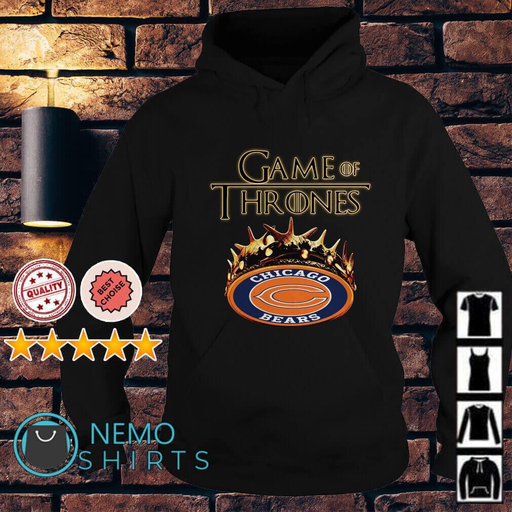 Game of Thrones Chicago Bears mashup Hoodie