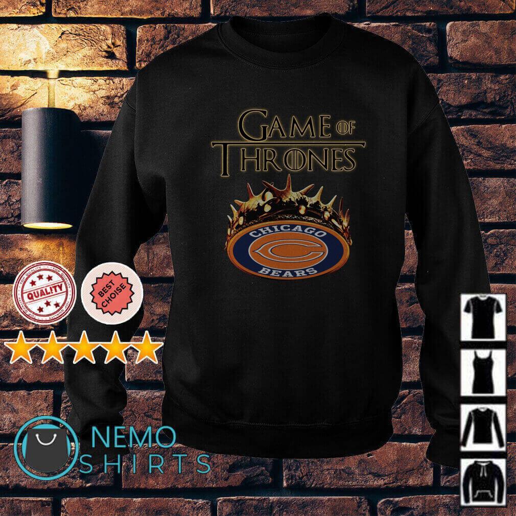Game of Thrones Chicago Bears mashup Sweater