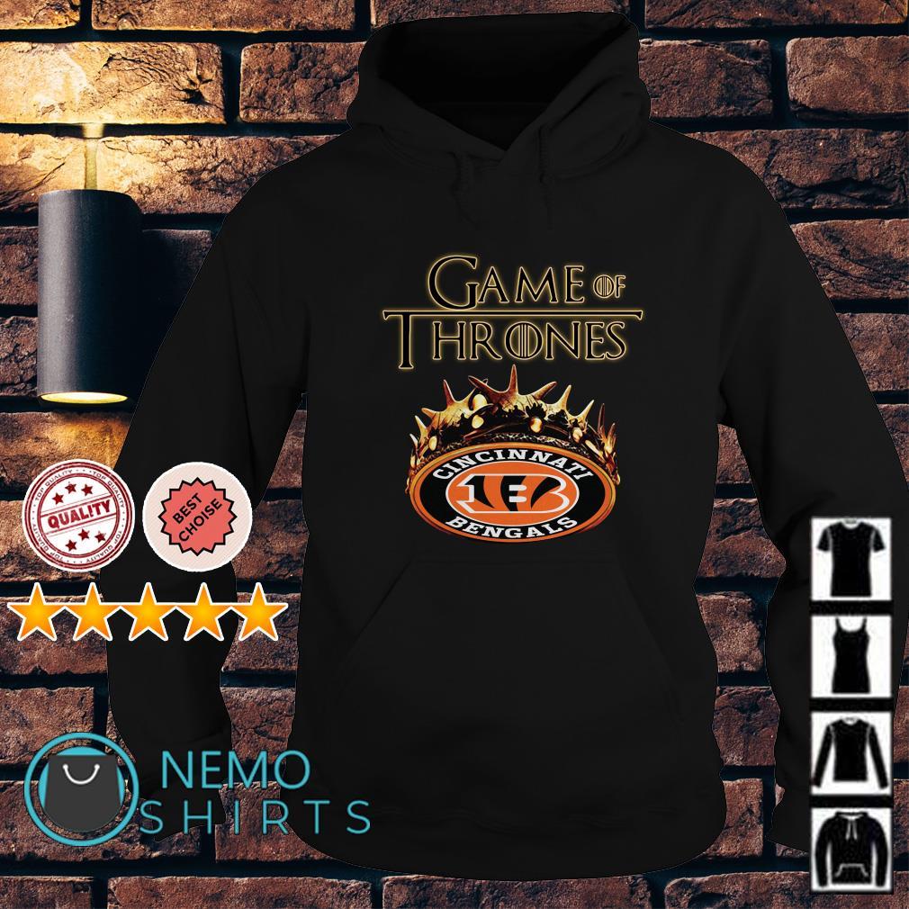Game of Thrones Cincinnati Bengals mashup Hoodie