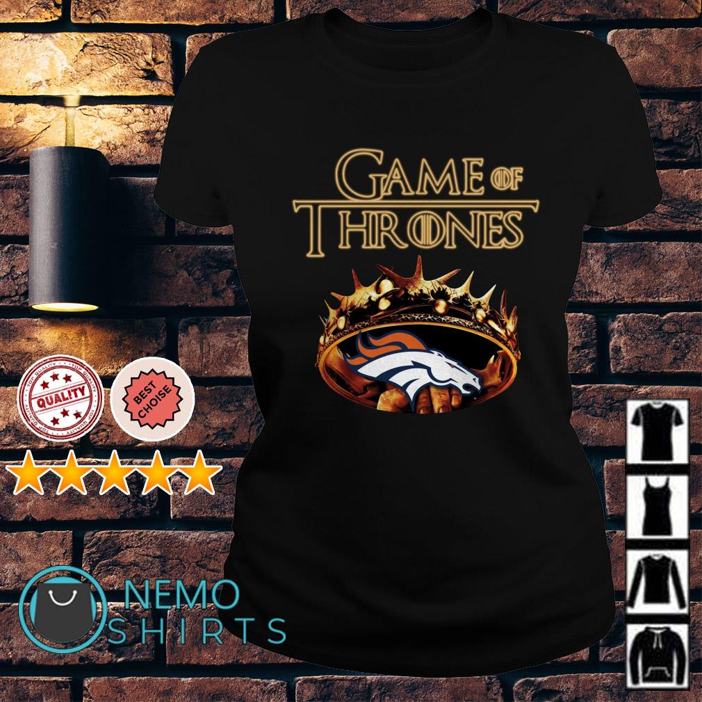 Game of Thrones Denver Broncos mashup Ladies tee