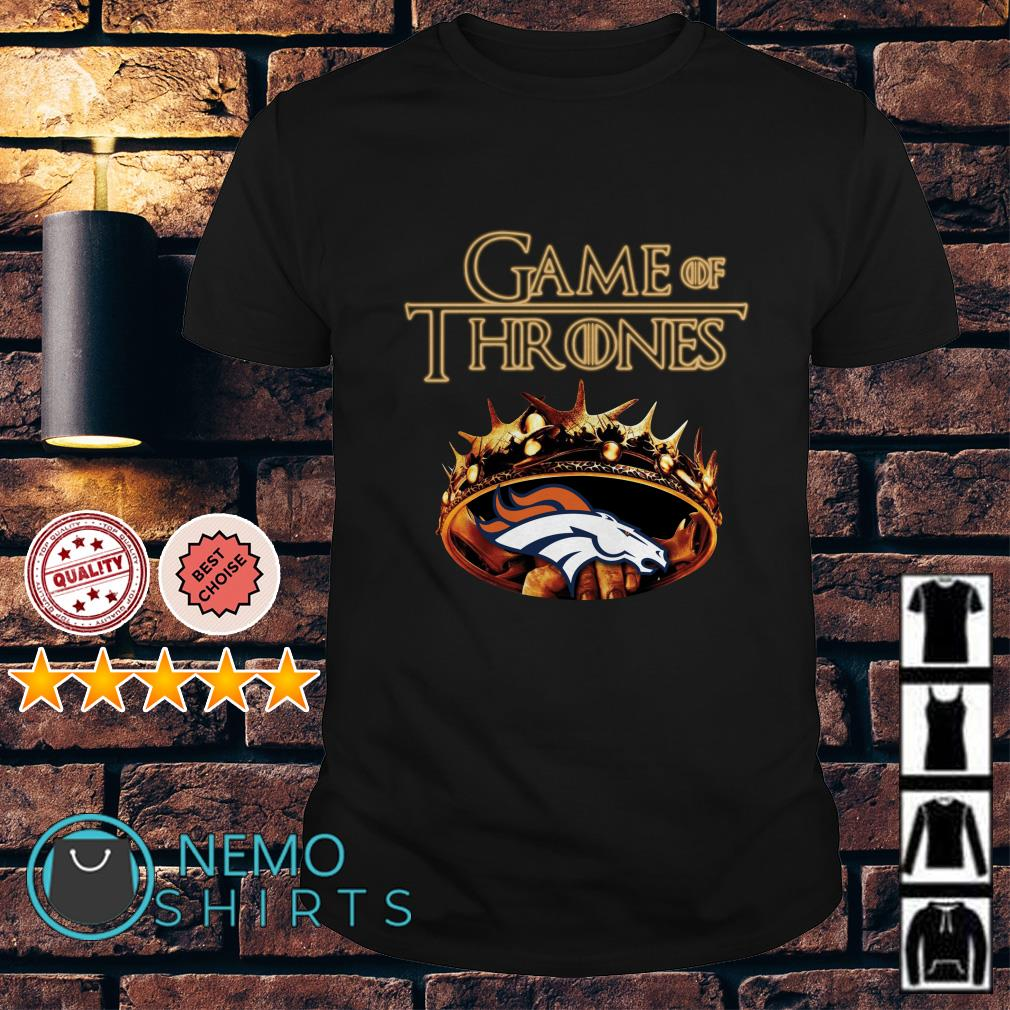 Game of Thrones Denver Broncos mashup shirt