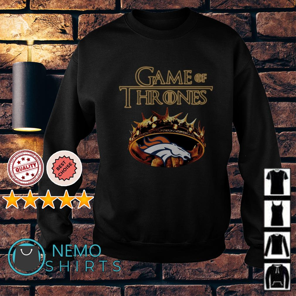 Game of Thrones Denver Broncos mashup Sweater