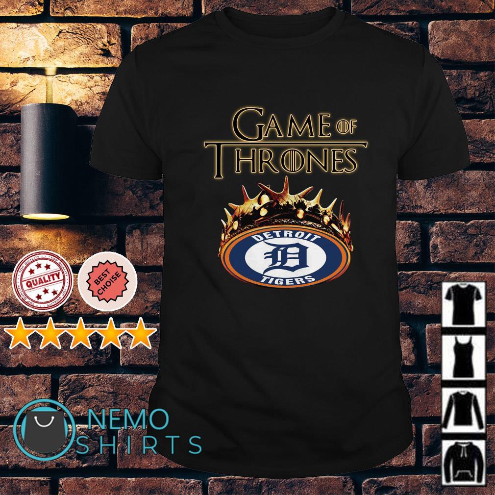 Game of Thrones Detroit Tigers mashup shirt