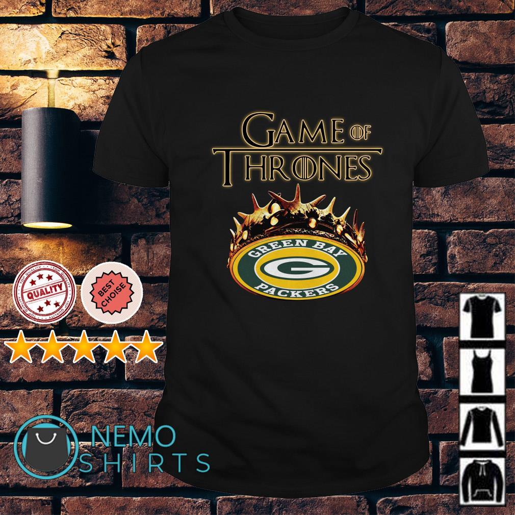 Game of Thrones Green Bay Packers mashup shirt