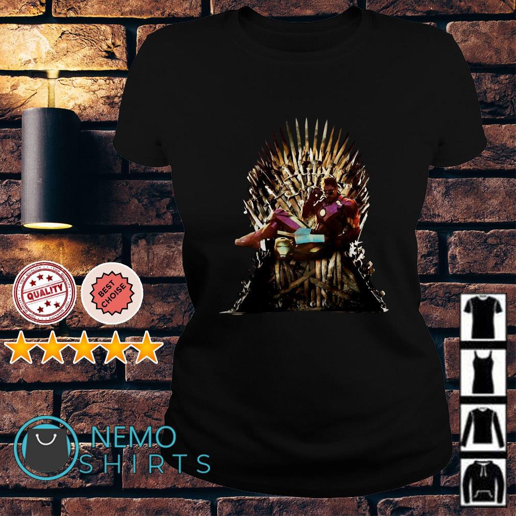 Game Of Thrones Iron Man King Ladies tee