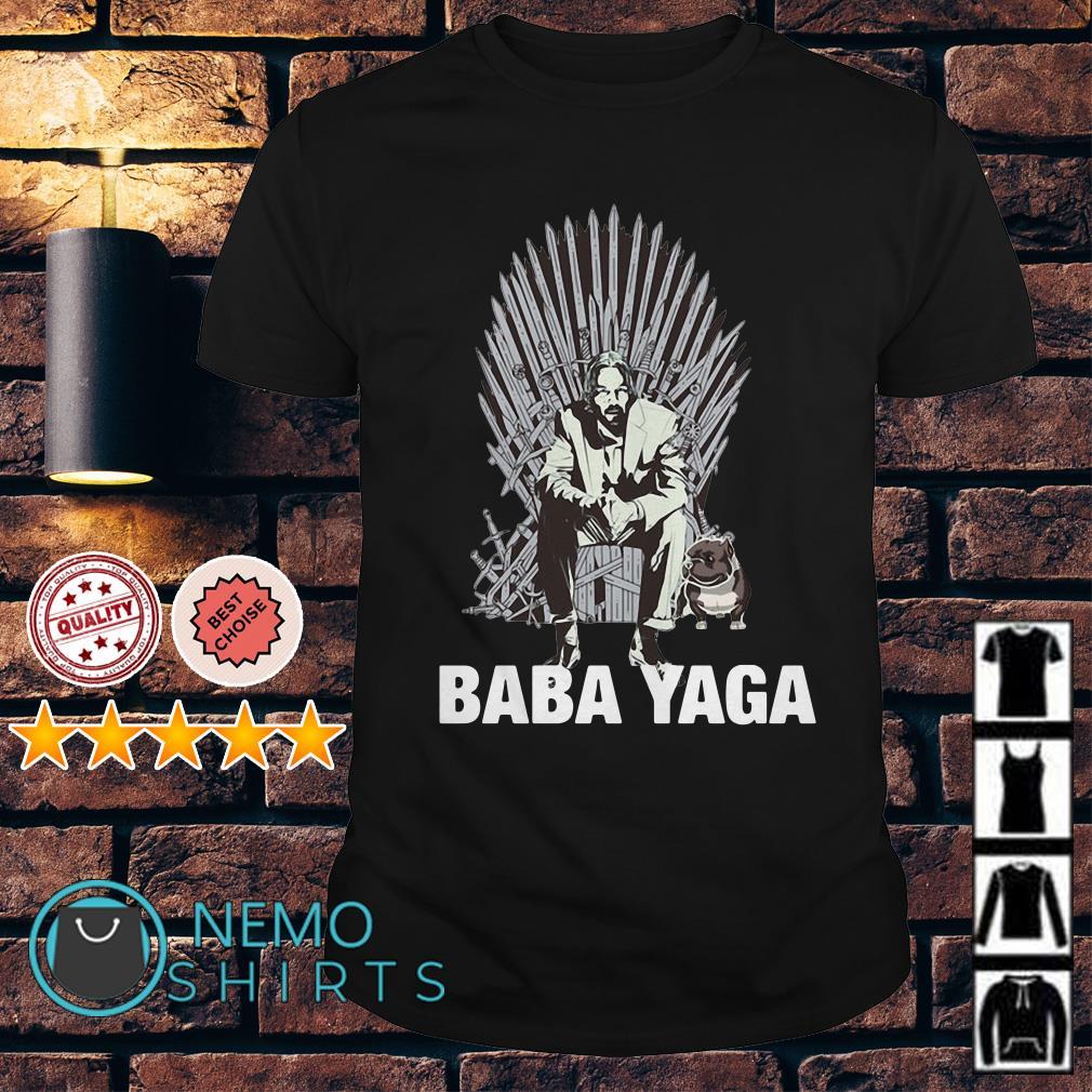 Game of Thrones John Wick baba yaga shirt
