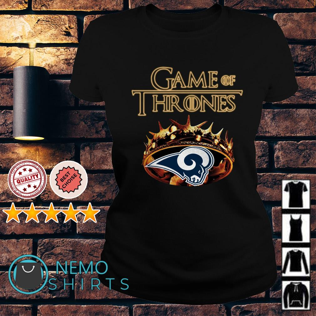 Game of Thrones Los Angeles Rams mashup Ladies tee