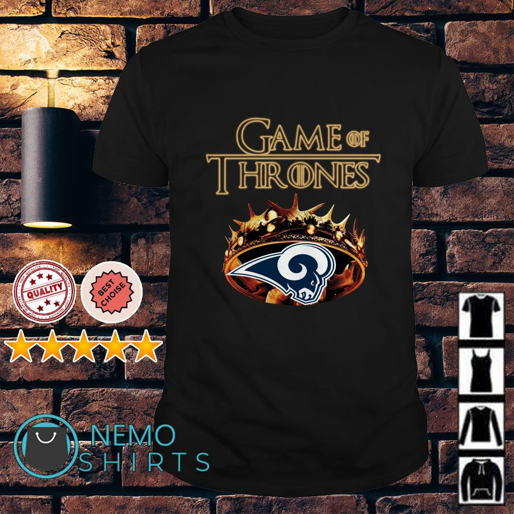 Game of Thrones Los Angeles Rams mashup shirt