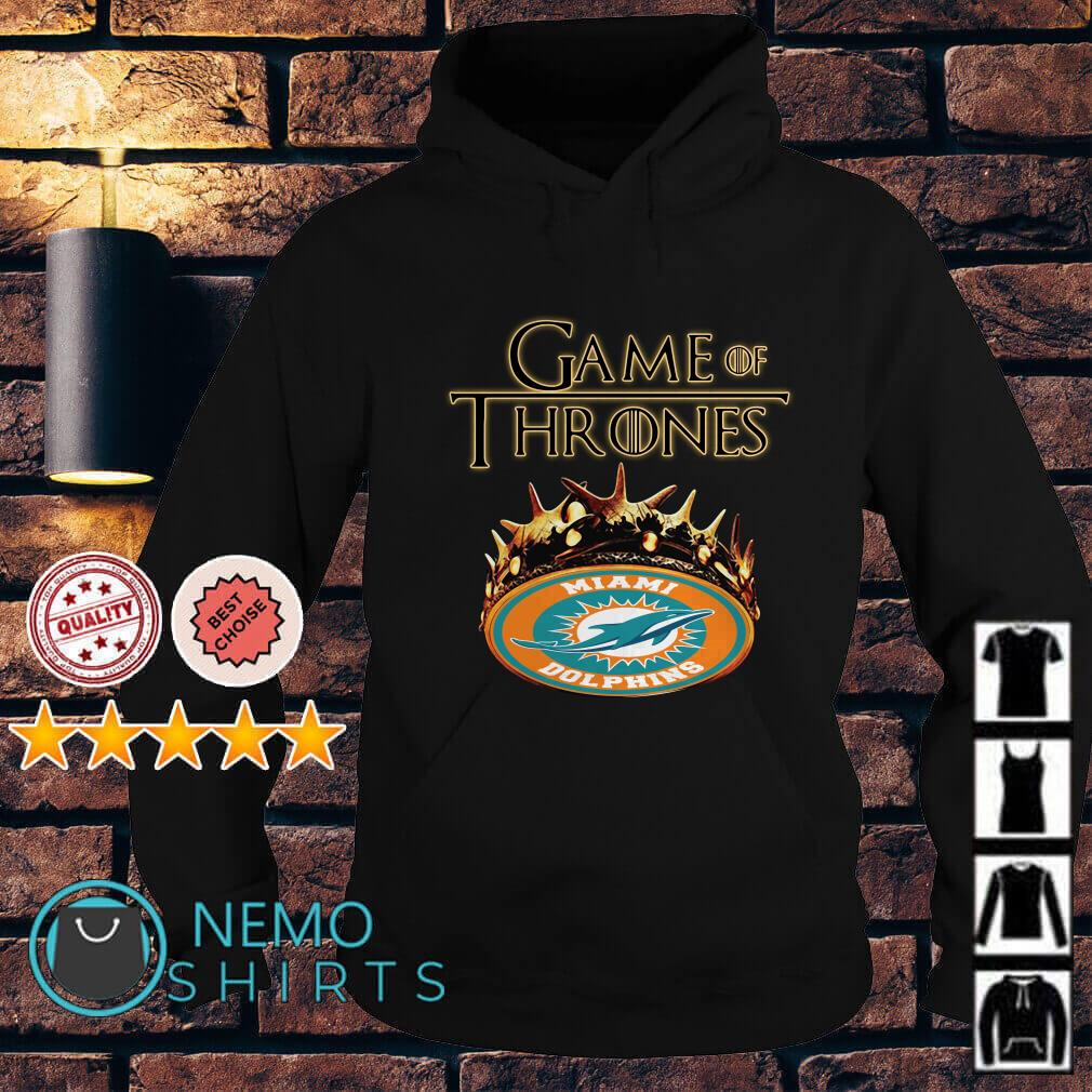 Game of Thrones Miami Dolphins mashup Hoodie