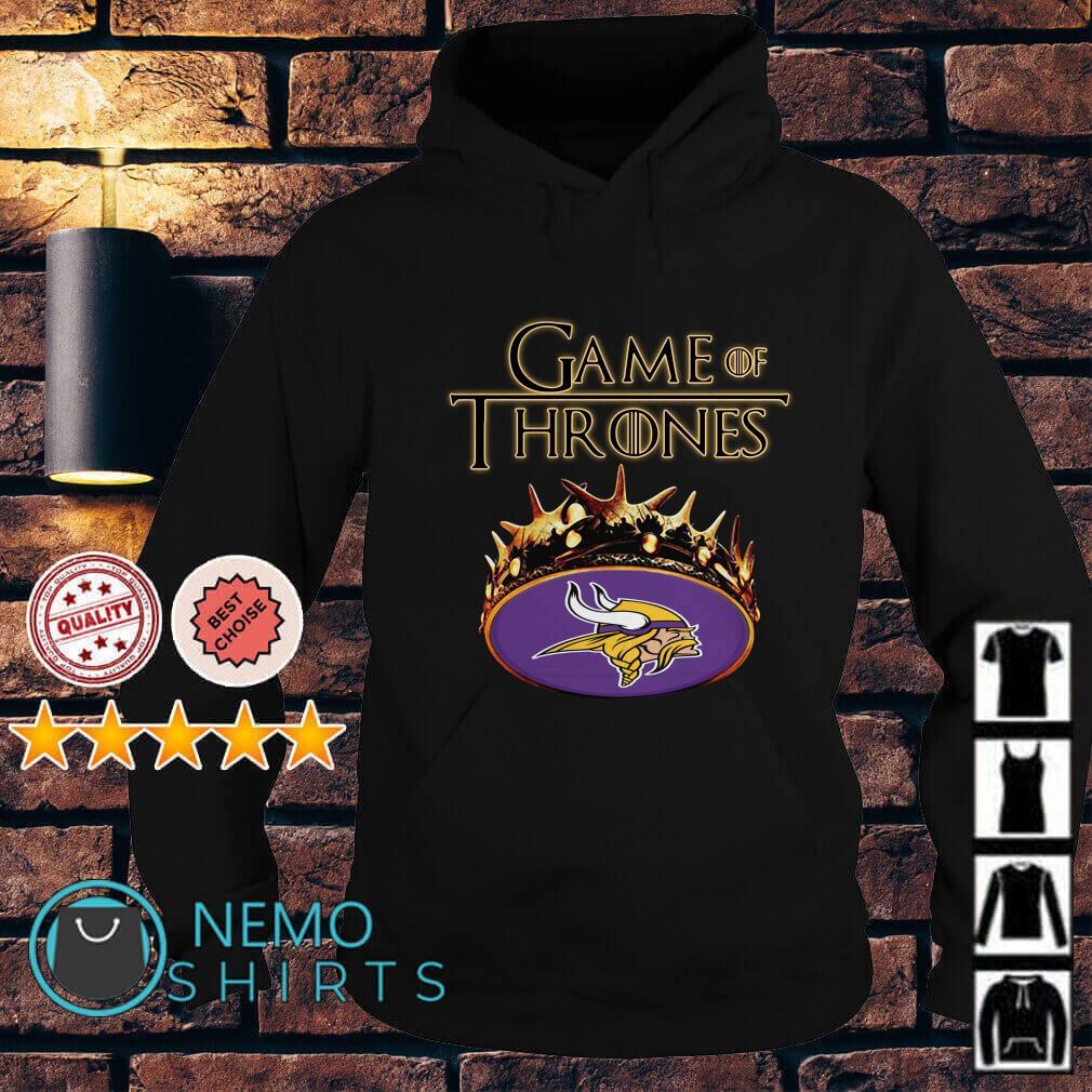 Game of Thrones Minnesota Vikings mashup Hoodie