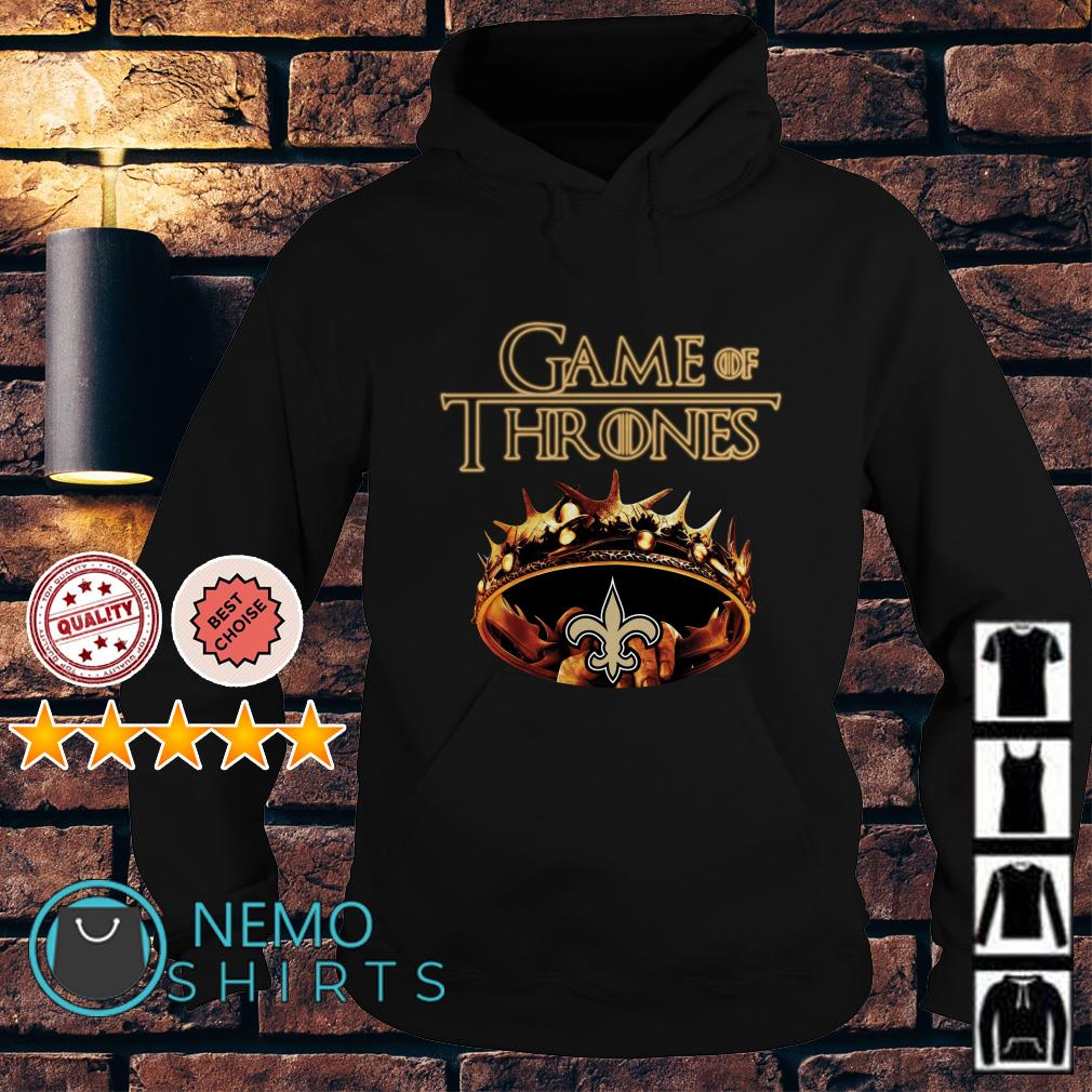 Game of Thrones New Orleans Saints mashup Hoodie