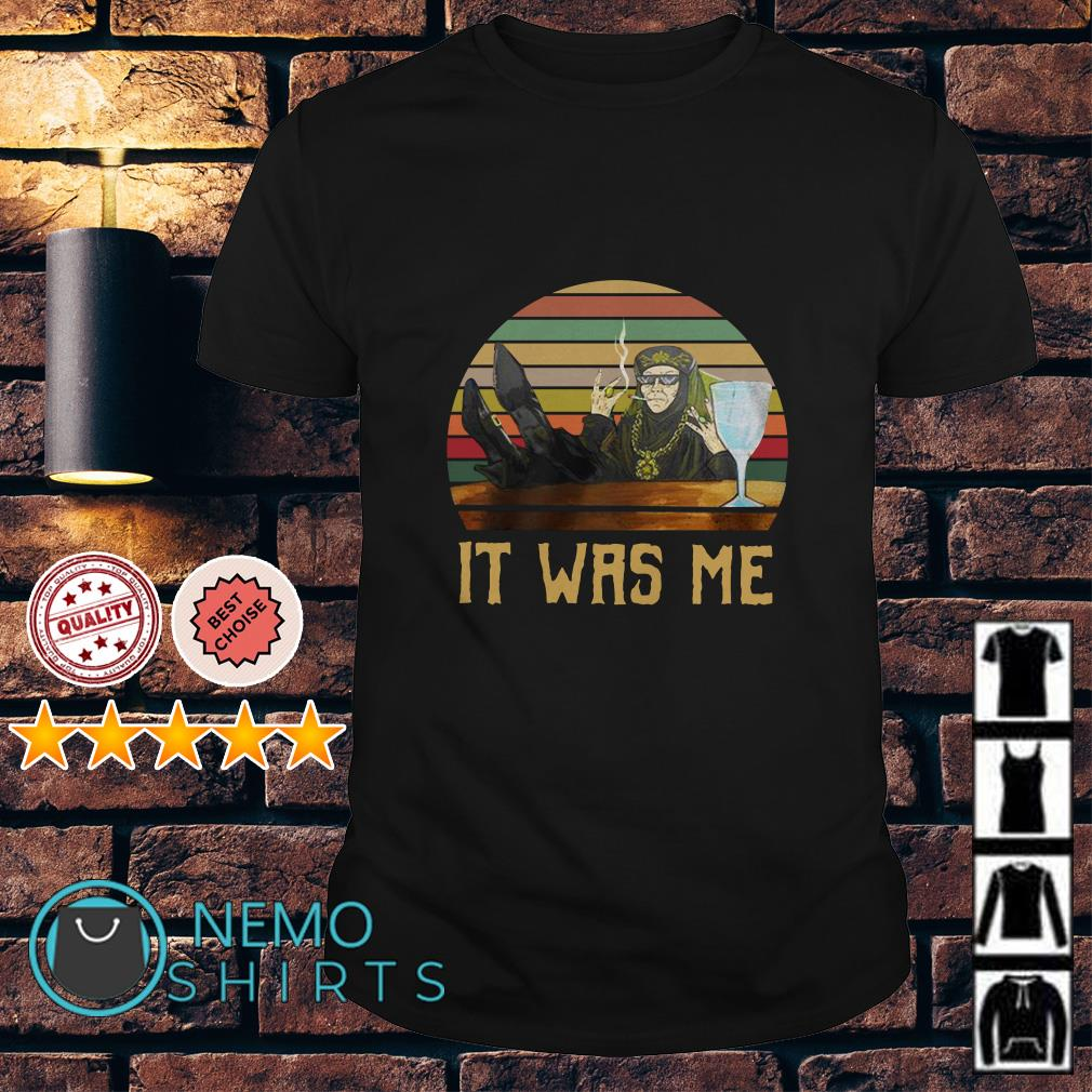 Game Of Thrones Olenna Tyrell it was me vintage shirt