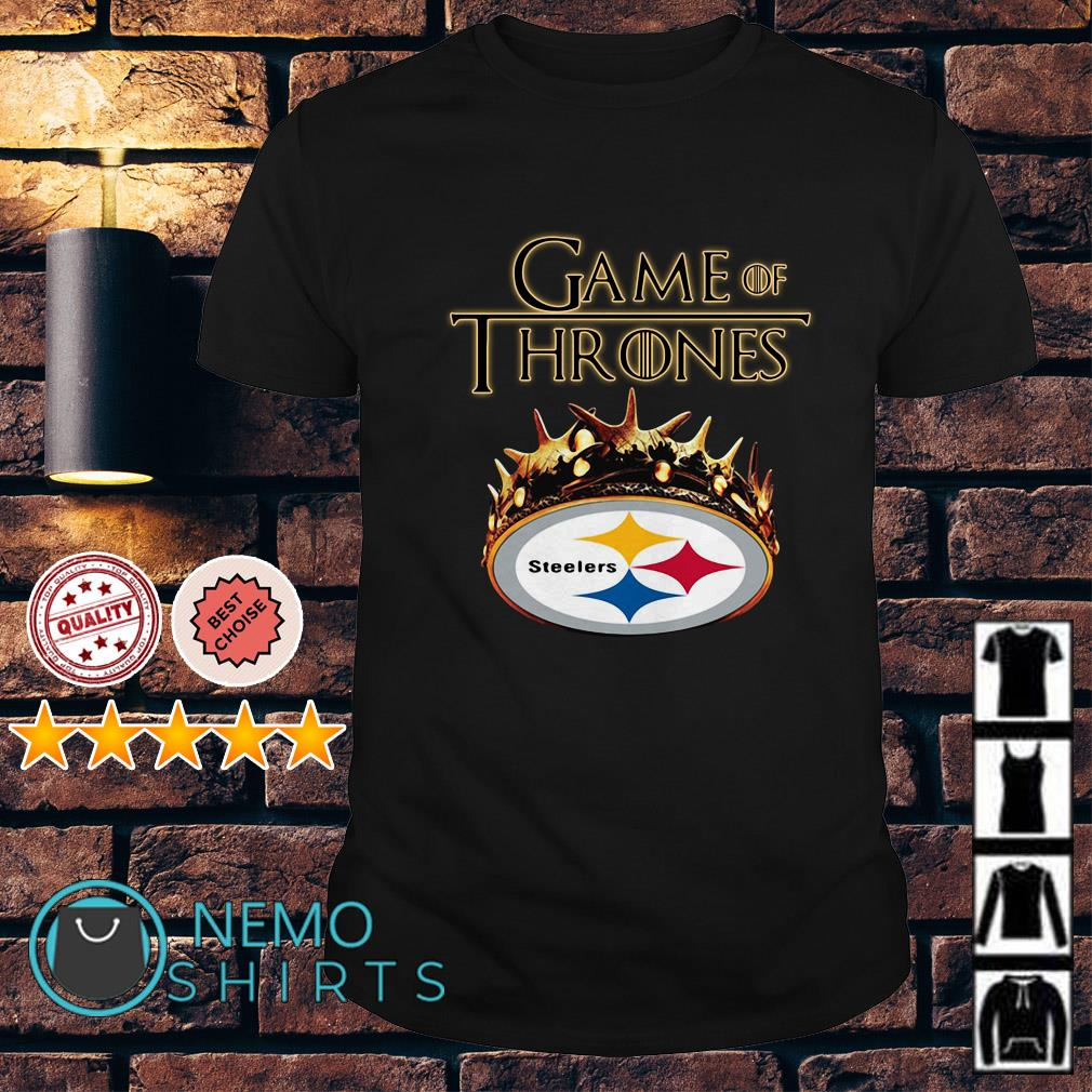 f16614e64 Game of Thrones Pittsburgh Steelers mashup shirt and v-neck t-shirt