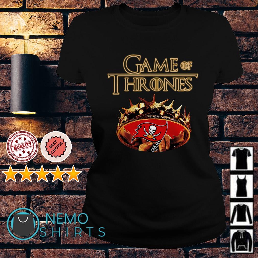 Game of Thrones Tampa Bay Buccaneers mashup Ladies tee