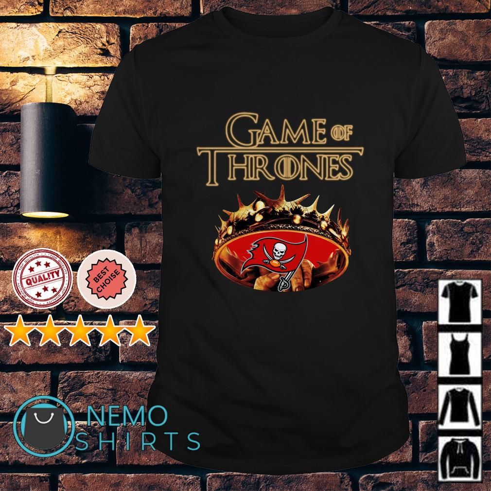 Game of Thrones Tampa Bay Buccaneers mashup shirt