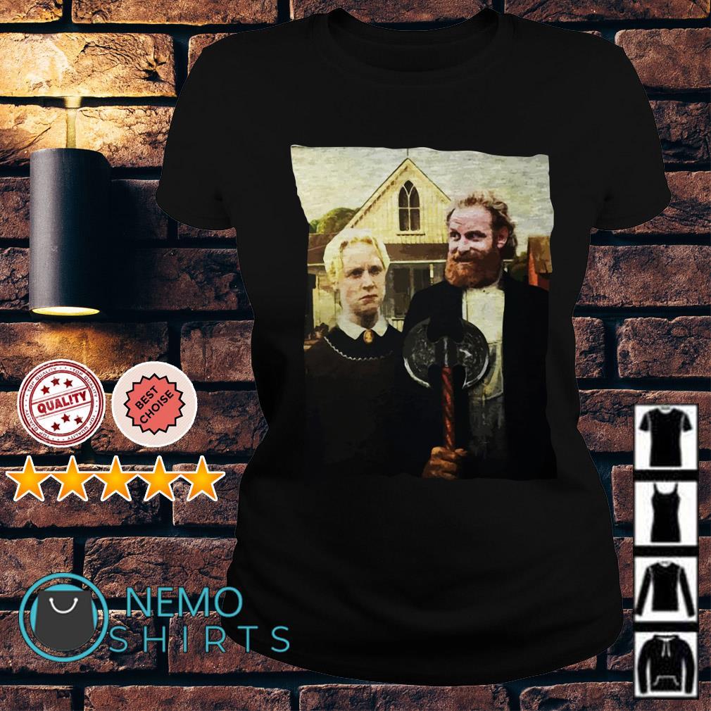 Game of Thrones Tormund and Brienne Westeros Gothic Ladies Tee
